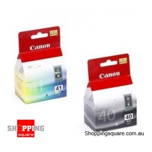 Canon PG40CL41CP Combo Pack Black & Color Ink Cartridge