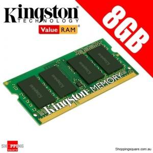 Kingston KVR16LS11/8 8GB DDR3 1600MHz 2Rx8 1G x 64-Bit PC3L-12800 CL11 204-Pin SODIMM For Laptop Ram Memory
