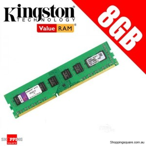 Kingston KVR16N11/8 8GB 2Rx8 1G x 64-Bit PC3-12800 CL11 240-Pin DIMM Ram Memory