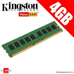Kingston KVR16LN11/4 4GB 1Rx8 512M x 64-Bit PC3L-12800 CL11 240-Pin DIMM Ram Memory