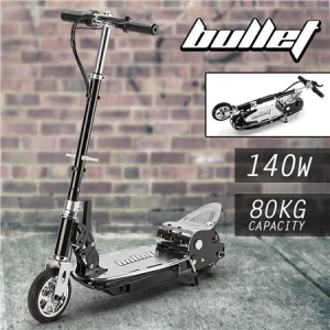 BULLET Adjustable and Foldable Electric Scooter for both Adults and Kids 140W