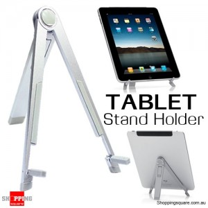 Adjustable Stand Holder for Tablet Apple iPad Samsung Galaxy Silver Colour