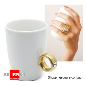 2 Carat Diamond Ring Cup - Gold Colour