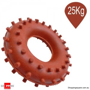 Hand Grip Rubber Ring for Fitness Training Exercise 25Kg