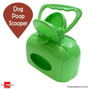 Dog Poop Scooper with Interlayer Clip Random Color