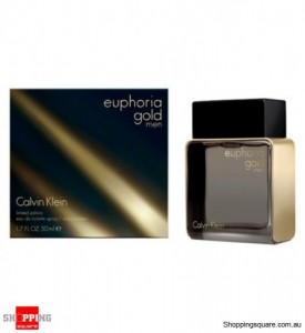 CK Euphoria Gold 50ml EDT by Calvin Klein For Men Perfume