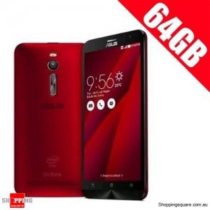 ASUS 64GB Zenfone 2 ZE551ML 4G LTE 4GB Ram 5.5'' Smart Phone Red