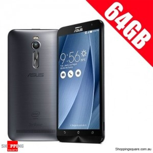ASUS 64GB Zenfone 2 ZE551ML 4G LTE 4GB Ram 5.5'' Smart Phone Silver