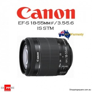 Canon EF-S 18-55mm f/3.5-5.6 IS STM DSLR Camera Kit Lens