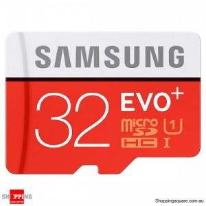 Samsung 32GB EVO Plus Class 10 80MB/s Micro SD TF Memory Card