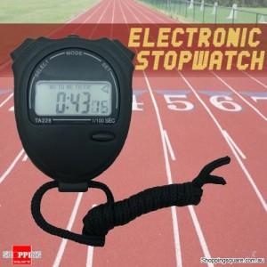 Handheld Stopwatch Stop Watch and Alarm Clock