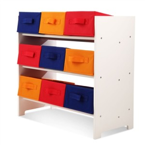 9 Drawer Kids Toy Organiser / Storage Unit