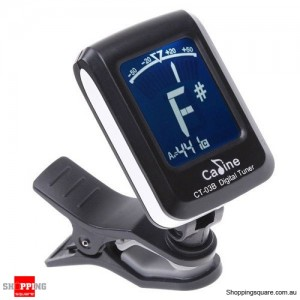 Chromatic Guitar Tuner with LCD Electronic Display Violin Ukulele Bass