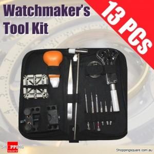 13PCs Watchmaker Watch Repair Tool Kit Set
