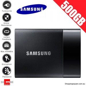 Samsung 500GB Portable SSD Harddisk