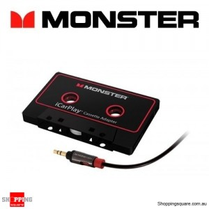 Monster iCarPlay Cassette Adapter 800 for iPod, iPhone, iPad and Andriod
