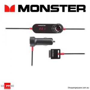 Monster Cable iCarPlay Wireless 800 FM Transmitter for iPod and iPhone