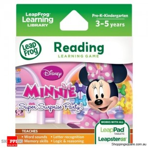 LeapFrog Disney Minnie's Bow-tique Super Surprise Party Learning Game