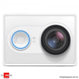 Genuine XiaoMi Yi Ambarella A7LS BSI CMOS WIFI Sports Action Camera White Colour