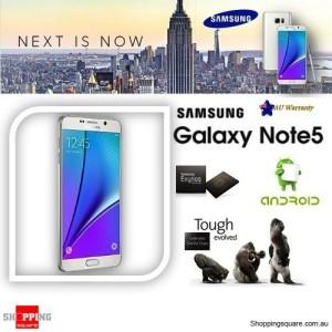 Samsung Galaxy Note 5 N920C LTE 4G 32GB Smart Phone White