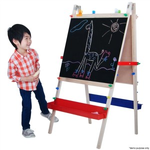 Universe of Imagination Creations Children's Double-Sided Art Easel