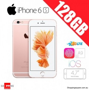 Apple iPhone 6s 128GB LTE 4G 4.7 inches Smart Phone Rose Gold