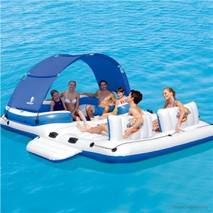 6-Person Inflatable Tropical Breeze Raft