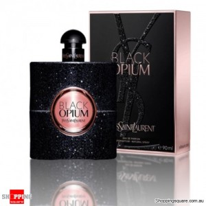 YSL Black Opium 90ml EDP by Yves Saint Laurent For Women Perfume