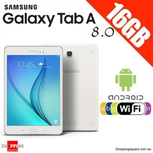 SAMSUNG GALAXY Tab A 8.0 WiFi 16GB White