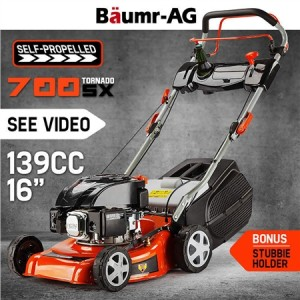 "Baumr-AG 660EX 16"" Lawn Mower 139cc Self-Propelled"