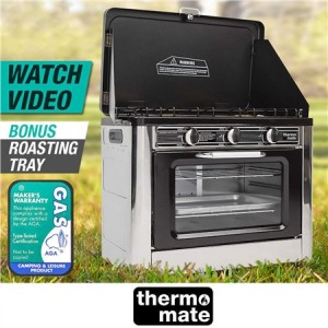 Thermomate Portable Camping Oven and Stove
