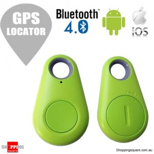 Smart Wireless Bluetooth 4.0 Anti Lost GPS Locator Key Finder Tracker Green Colour