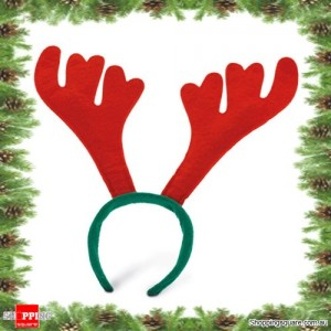 Reindeer Antlers Ears Headband for Christmas and Dress up Party Xmas events