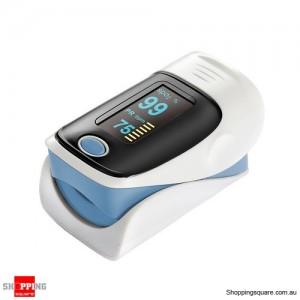 """1.1"""" OLED Screen SPO2 / Heart Rate Monitor Fingertip Pulse Oximeter Blue Colour"""