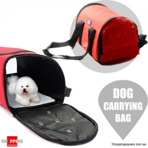 Waterproof Portable Pet Dog Folding Carrier Bag for Car Travel Cat