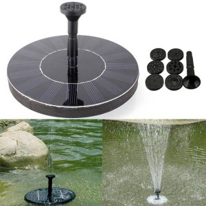 Solar Power 7V Floating Brushless Water Pump Submersible Fountain Garden Landscape