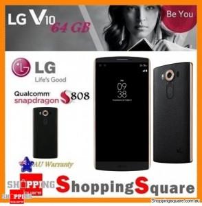 LG V10 H961N 4G LTE 64GB Unlocked Mobile Phone Black