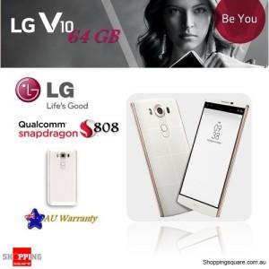 LG V10 H961N 4G LTE 64GB Unlocked Mobile Phone White