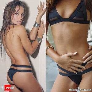 Women's Sexy Bandage Neoprene BIKINI Swimwear Black Colour Size S