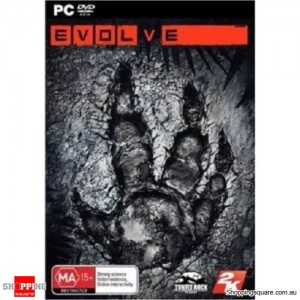 EVOLVE includes Monster Expansion - PC Game DVD