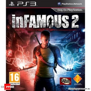 InFamous 2 - PS3 Playstation 3 Game