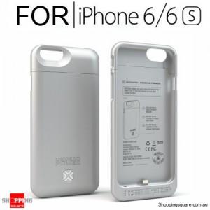 Lenmar Undead Power Maven Power Case 3000mAh Silver Colour for IPhone 6/6S