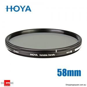 Hoya Variable Density Filter 3-400 58mm