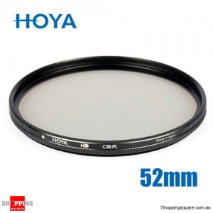 Hoya Circular Polarizer HD Hardened Glass 8-layer Multi-Coated Filter 52mm
