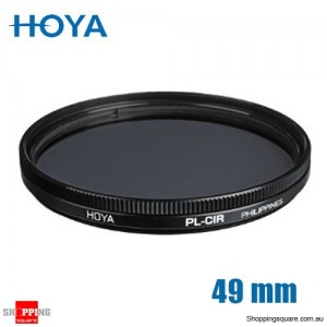 Hoya Circular Polarizer Filter 49mm for Camera Lens
