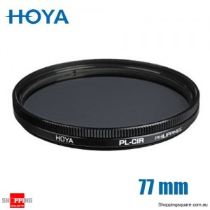 Hoya Circular Polarizer Filter 77mm for Camera Lens