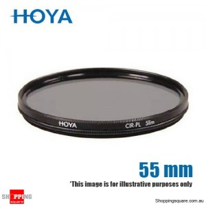 Hoya CIR-PL Circular Polarising Slim Frame Filter 55mm