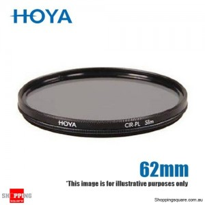 Hoya CIR-PL Circular Polarising Slim Frame Filter 62mm