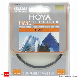Hoya UV C HMC Digital Slim Frame Multi-Coated Glass Filter 37mm