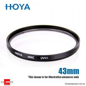 Hoya UV C HMC Digital Slim Frame Multi-Coated Glass Filter 43mm